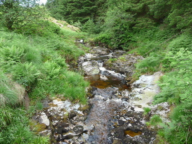 The Nant Rhuddnant