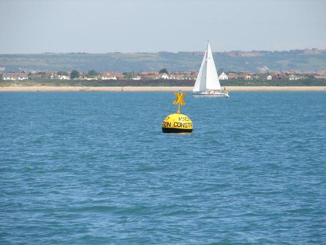 Mackley Construction racing buoy