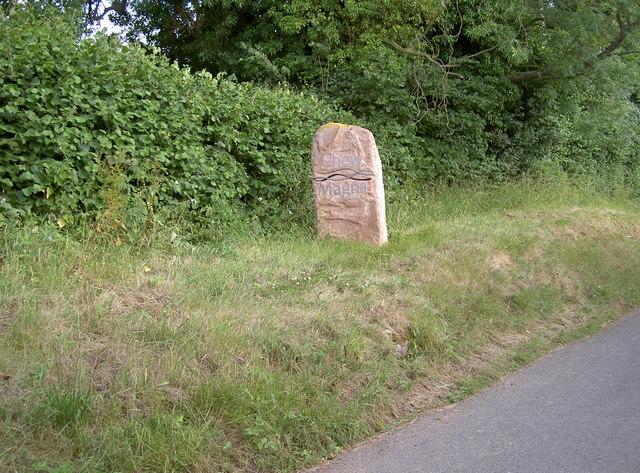 Village boundary stone