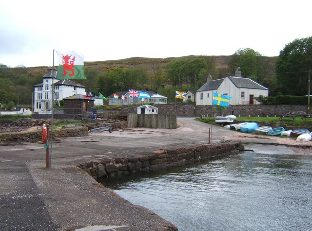 Kilchattan from the Pier