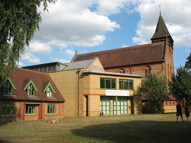 St Mark's church and hall, Battersea Rise
