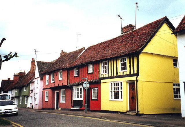 Cottages in Saffron Walden