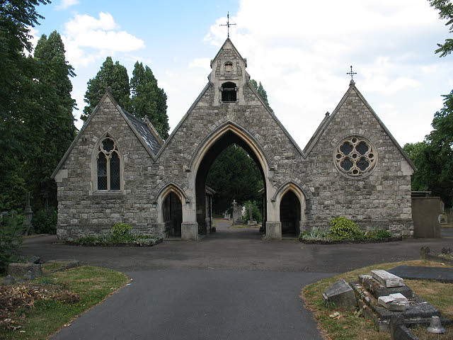 St Mary's cemetery chapel, Battersea