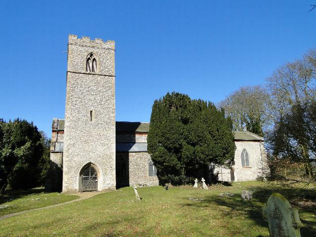 Stanhoe All Saints church, Norfolk