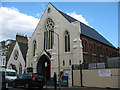 TQ2774 : Ransom Pentecostal Church, Battersea by Stephen Craven