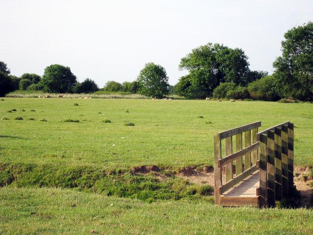 Footbridge over Ditch