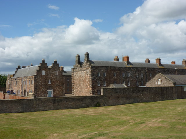 The Barracks, Berwick Upon Tweed - View from the south-east