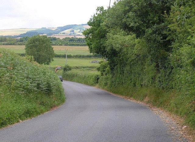 B3188 near Pitsford Hill