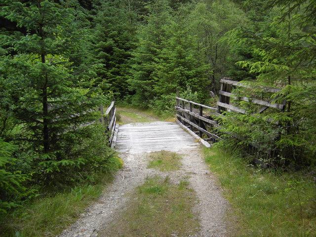 Bridge in Gleann Dubh Lighe