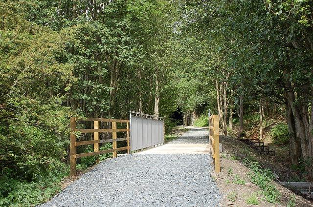 New path at Eshiels