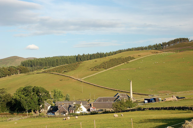 Edderston Farm near Peebles