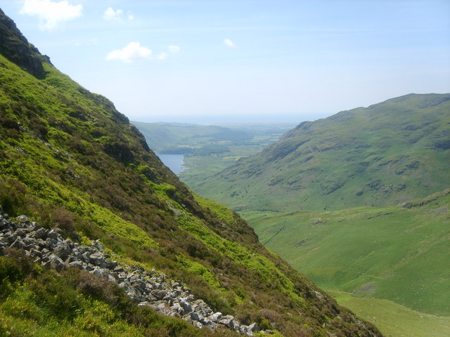Descending Yewbarrow