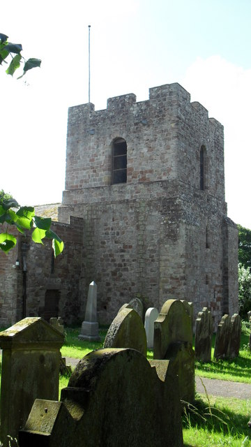 Tower of St. Michael's in Burgh by Sands