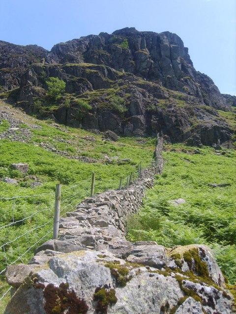Wall, Dropping Crag
