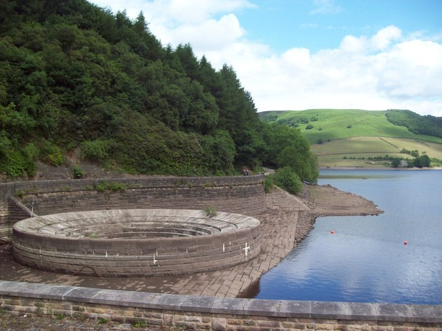 Western Spillway at Low Level