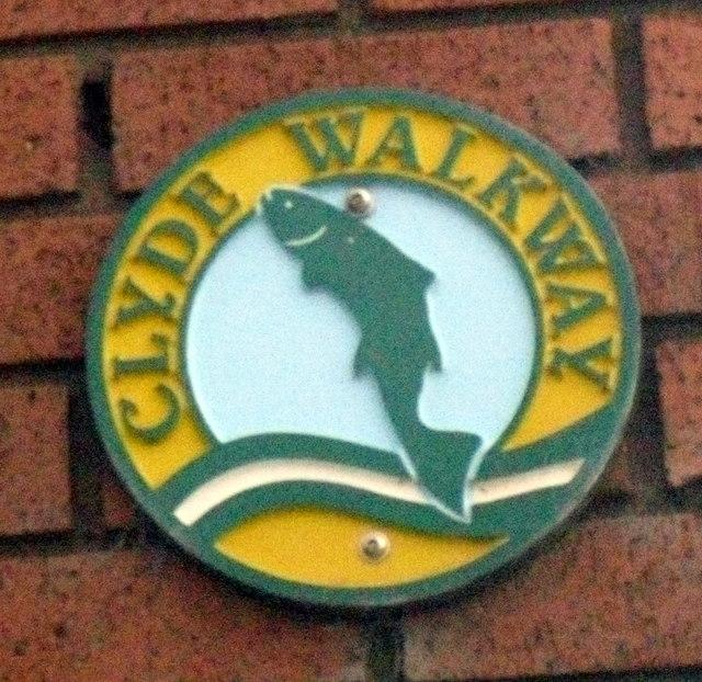 Clyde Walkway sign