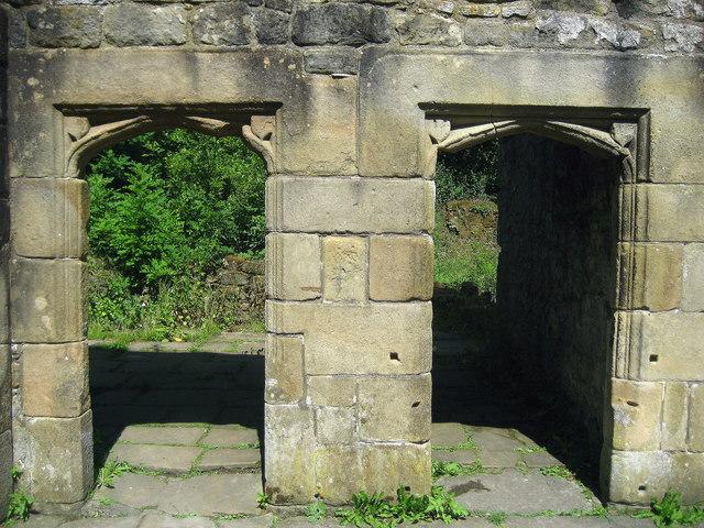 Doorways in Wycoller Hall