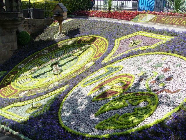 Floral Clock, Princes Street Gardens