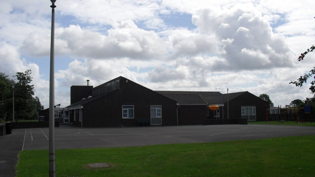 County primary school at Kirkbride in Cumbria