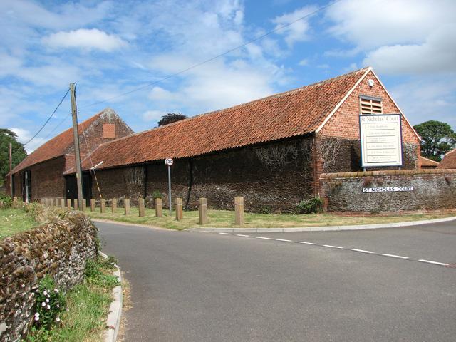 Barn conversions at St Nicholas' Court, Dersingham