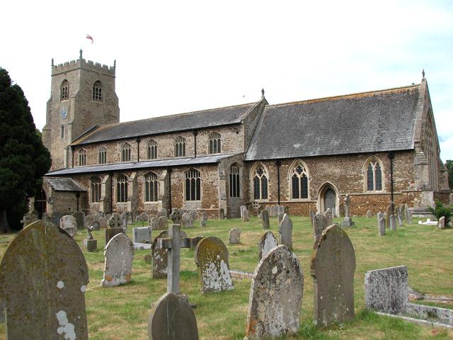 St Nicholas' church in Dersingham