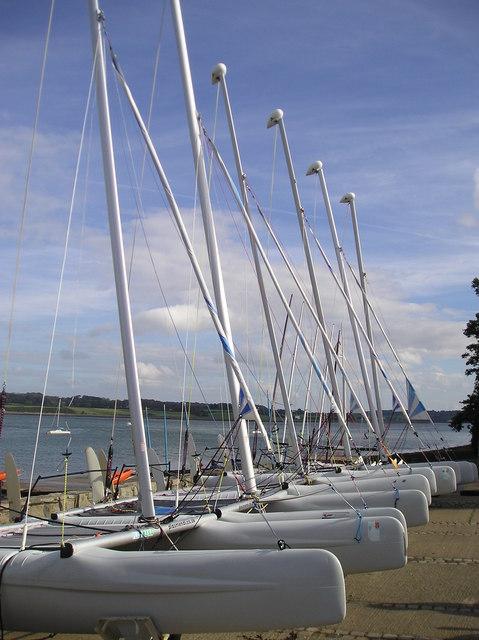 Catamarans, Plas Menai