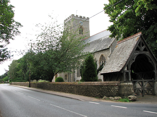 St Mary's church in Docking