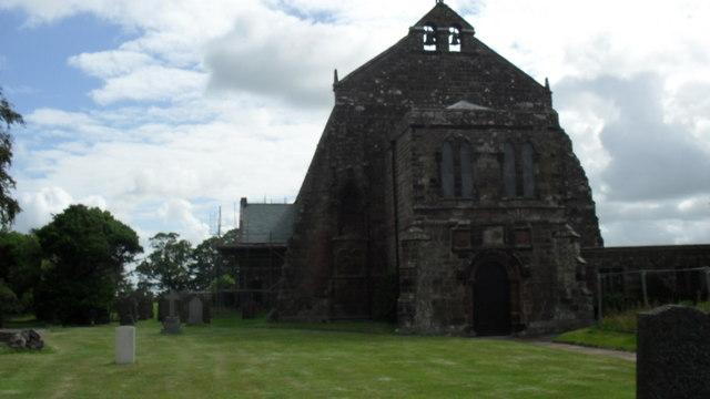 Abbey Church of  St. Mary at Holme Cultram Abbey