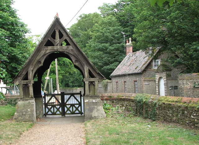 St Mary's church in Docking - lych gate