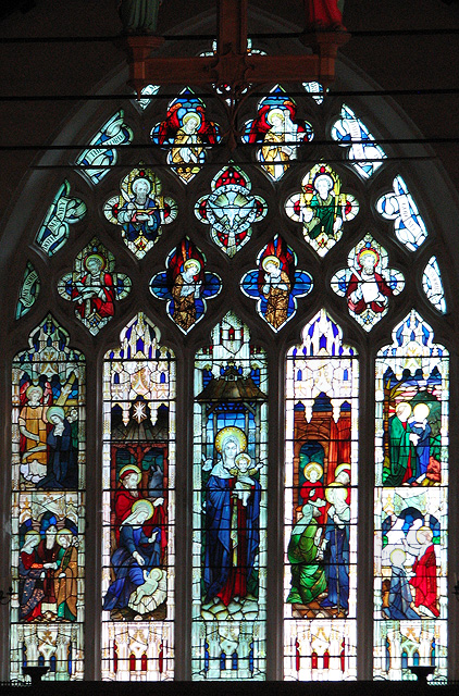 St Mary's church in Docking - east window
