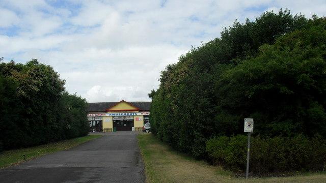 Amusement arcade at Silloth