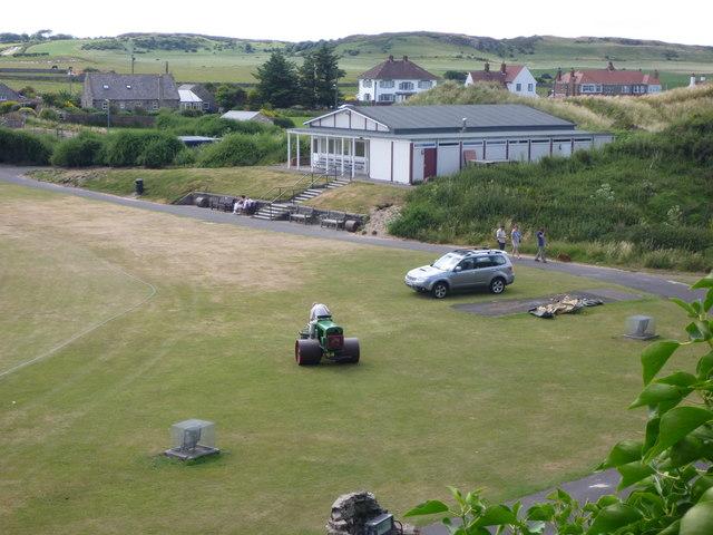 The Cricket Pavilion, Bamburgh, Northumberland