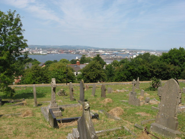 View from St. Augustine's church, Penarth