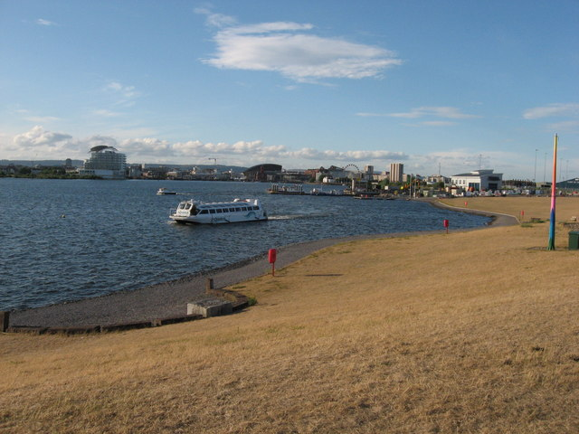 Cardiff Bay and barrage