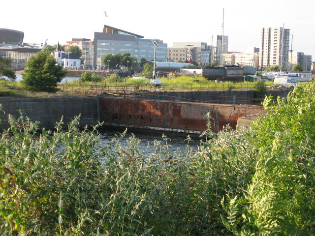 Former Channel Dry Dock, Cardiff