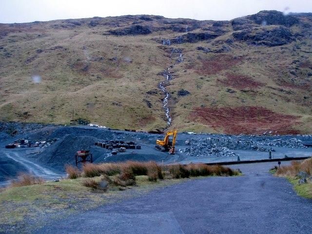 Slate Mine, Borrowdale, Cumbria