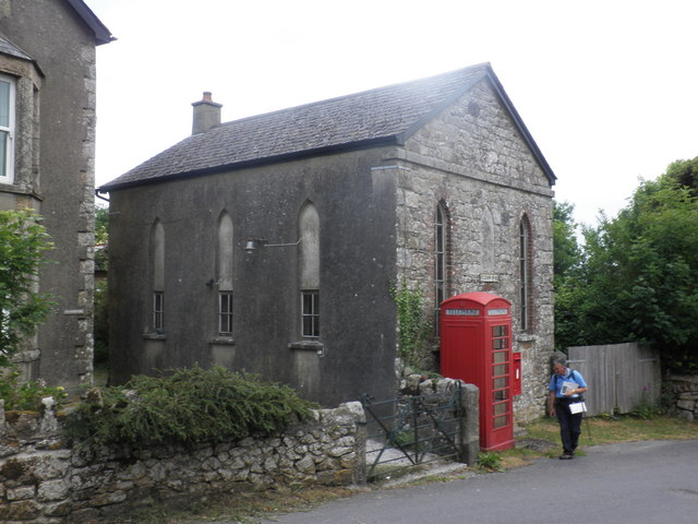 Telephone box, Belstone