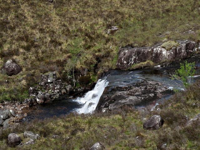 Waterfall on Fionn - abhainn