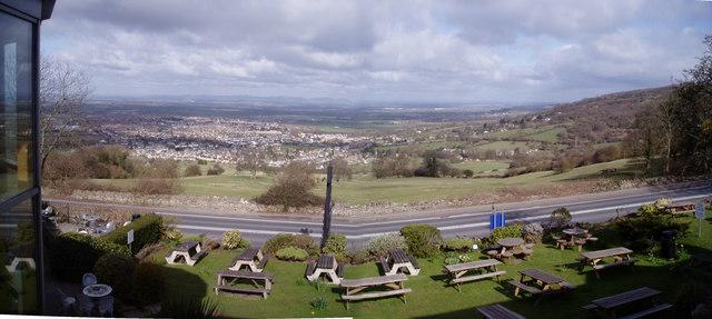 View from the Rising Sun Hotel, Nr Cheltenham