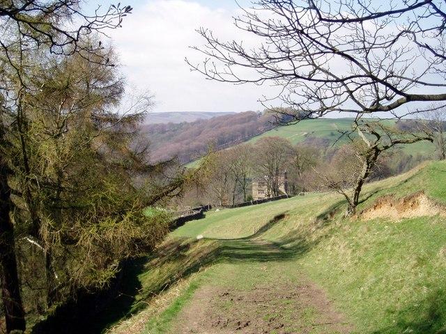 Footpath, Hathersage, Derbyshire