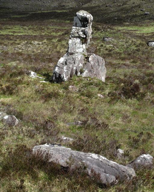 Clach nan Con-fionn and Other Rocks