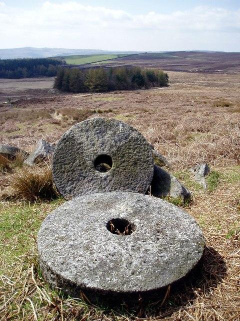 Millstones, Stanage Edge, Derbyshire