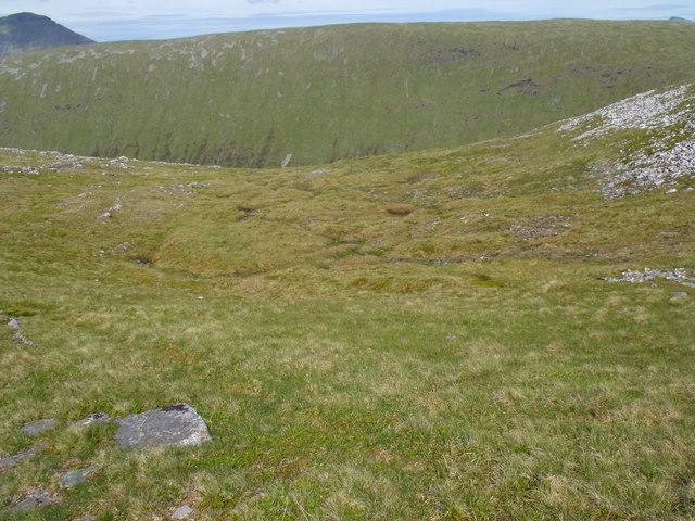 Mini coire on Beinn Udlaidh near Tyndrum