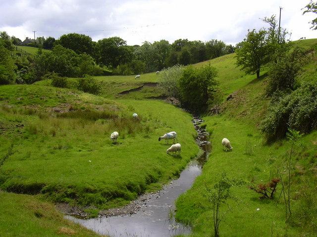 Stream, Colne Road, Trawden