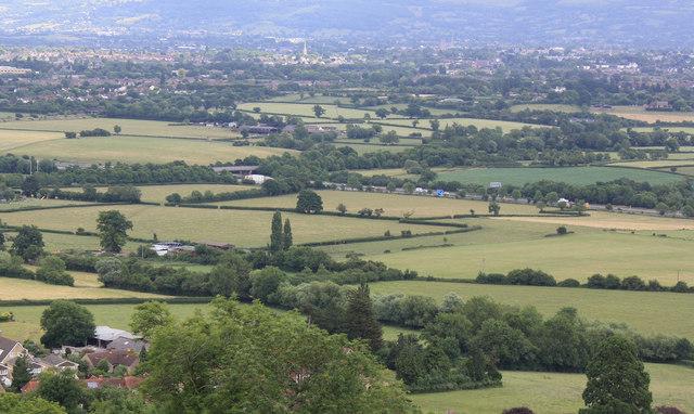 View NE from Churchdown Hill