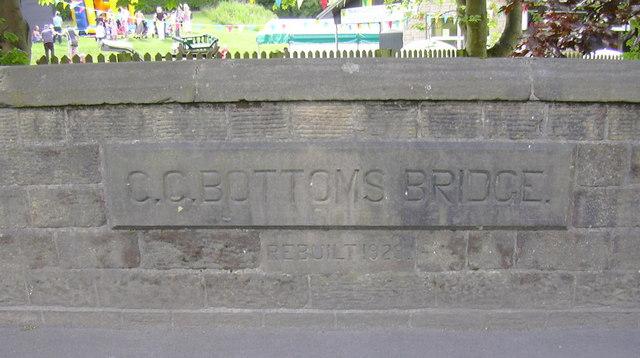 CC Bottoms Bridge, Trawden