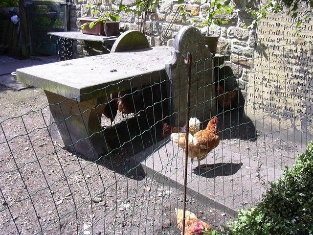 Graveyard, Trawden Wesley Chapel Site