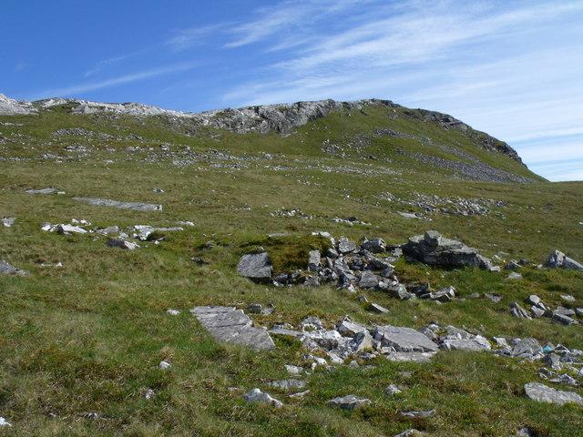 Northern slopes of Beinn Udlaidh near Tyndrum