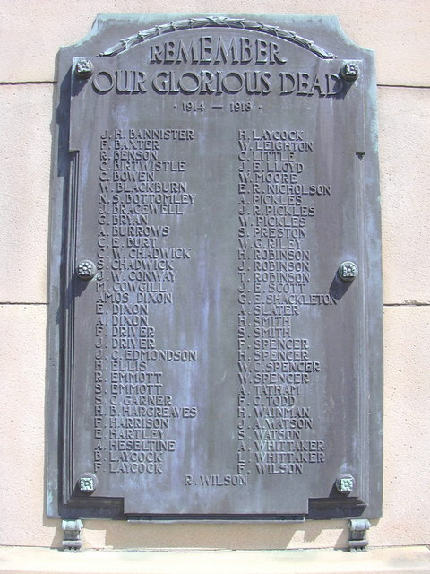 Trawden War Memorial