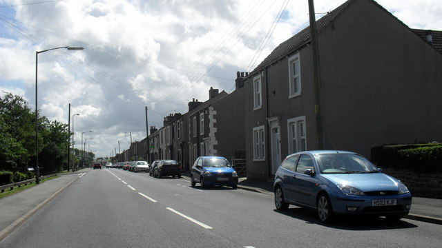 Maryport Road in Dearham, Cumbria